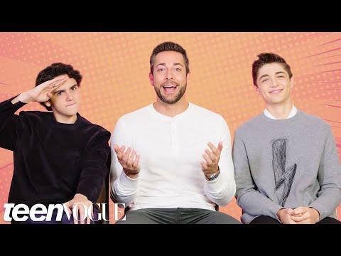 The Shazam! Cast Tests Their Superhero Movie Knowledge   Teen Vogue - UCr7ZFxNlDvb3waeoTN1_3mA