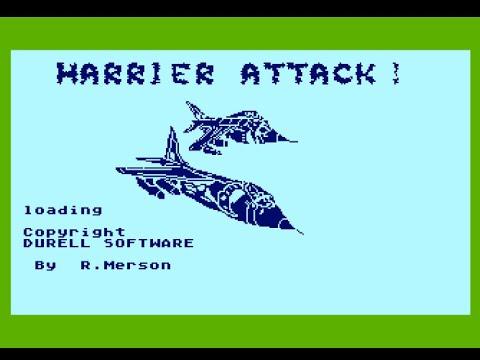 Harrier Attack para computadoras Atari 8-bits