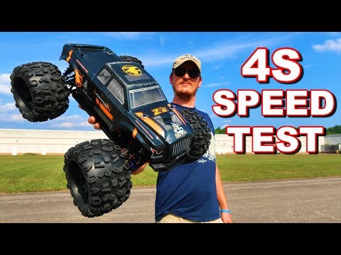 POWERFUL 4S RC Monster Truck Speed Test -  ZD Racing MT8 Pirate 3 - TheRcSaylors - UCYWhRC3xtD_acDIZdr53huA