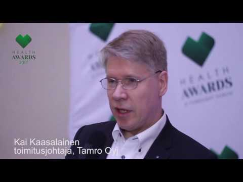 Health Awards 2017 -haastattelu: Kai Kaasalainen
