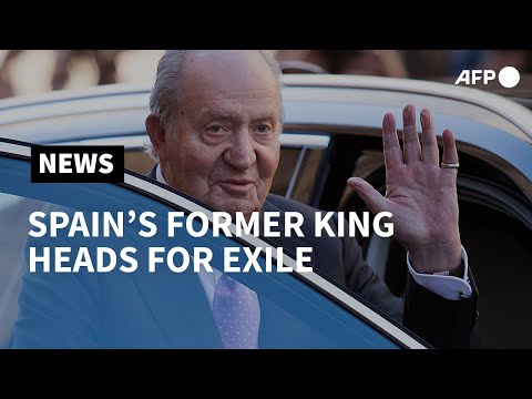 Spain's former king Juan Carlos, suspected of corruption, heads for exile | AFP