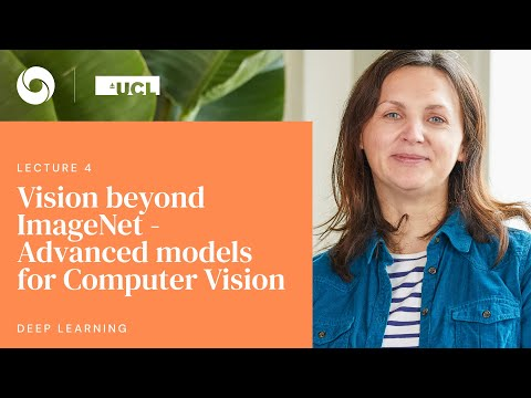 DeepMind x UCL   Deep Learning Lectures   4/12    Advanced Models for Computer Vision