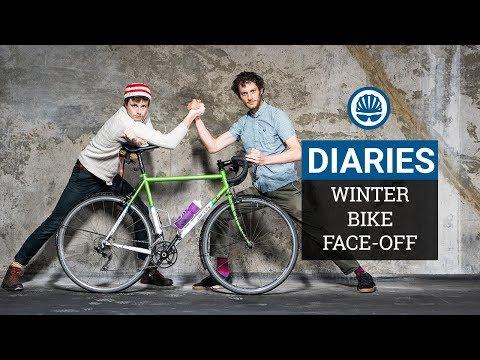 "Who Built The Best Winter Bike"" | Joe vs Jack | BikeRadar Diaries #8"