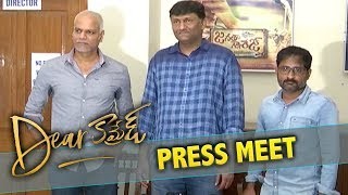 Dear Comrade Producers Press Meet || Movie Collections || Niharika Movies