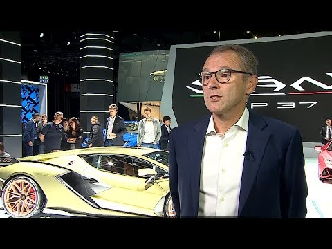 The new Lamborghini Sián FKP 37, in the words of Stefano Domenicali