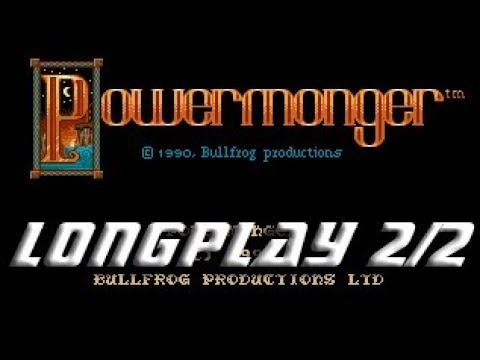 Powermonger (Commodore Amiga) Longplay 2/2