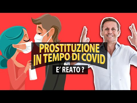 Prostituzione in tempo di Covid è reato? | avv. Angelo Greco