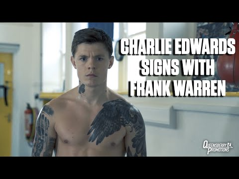 NEW SIGNING! CHARLIE EDWARDS SIGNS WITH FRANK WARREN | FORMER WBC WORLD CHAMPION JOINS BROTHER SUNNY 3