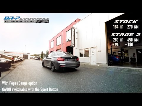 BMW F2x 220i Stage 2 BRP + By BR-Performance