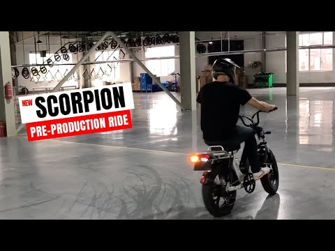 October 14th, 2019 - Juiced Scorpion pre-production first ride