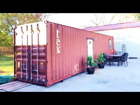 Spolja izgleda kao obični transportni kontejner, ali unutrašnjost će vas oduševiti!