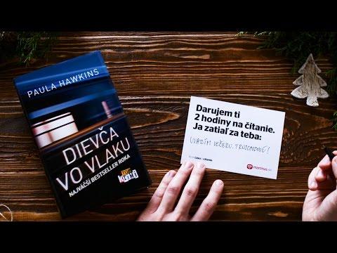 Daruj knihu a viac času na čítanie (Dievča vo vlaku)