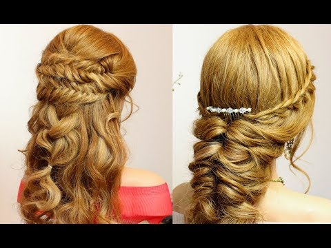2 Легкие Прически С Косами На Длинные Волосы.