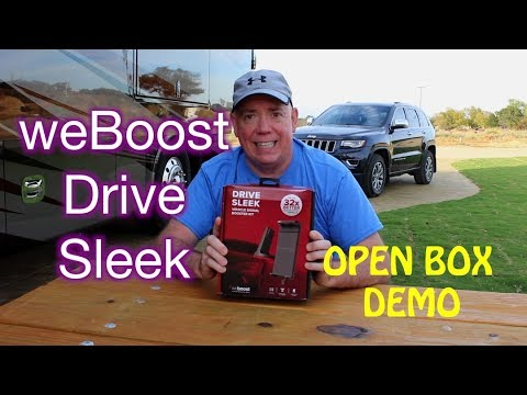 weBoost Drive Sleek - DOES IT WORK? Open Box and Demo! - UCWCwzhIDXR0zpnhhCEiaQHg