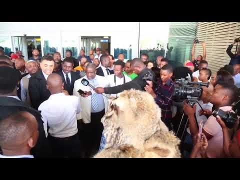 African Evangelist and bestselling author Dag Heward-Mills arrived in Gaborone, Botswana.