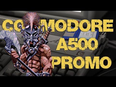 Commodore Amiga A500 PROMO Video #aMiGaTrOnIcS videos