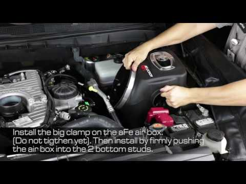 How To Install aFe Power 2016 Nissan Titan XD V8-5.0L (td) Momentum HD Intake System 50-76105