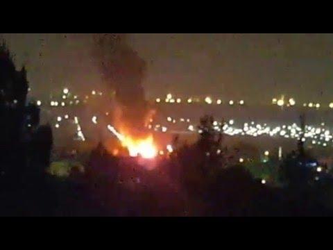 Se registra incendio en Iztapalapa, cerca de la Central de Abastos