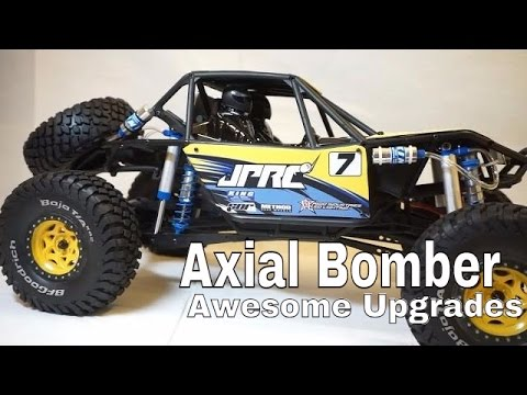 JPRC Axial RR10 Bomber Upgrades - Body, Shocks and Scale Accessories - UCerbnOYwiVAIz8hmhHkxQ8A