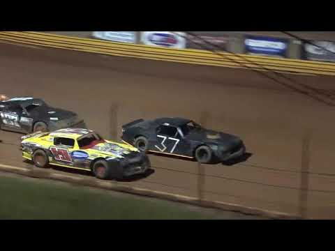 Stock V8 at Lavonia Speedway August 13th 2021 - dirt track racing video image