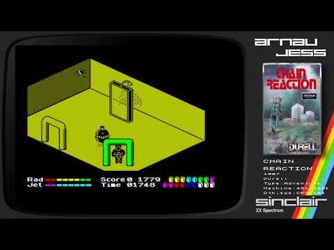 CHAIN REACTION Zx Spectrum by DURELL