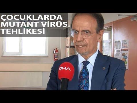 Prof. Dr. Mehmet Ceyhan: 'Çocuklarda Uzun Süren PCR Pozitiflik Yüzde 2'den 52'ye Çıktı'