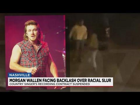 Morgan Wallen faces backlash over using racial slur