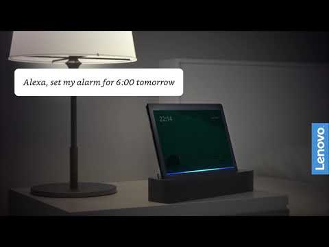 Lenovo Smart Tab – ask Alexa to control your smart home and more