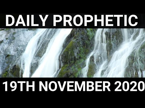 Daily Prophetic 19 November 2020 8 of 12