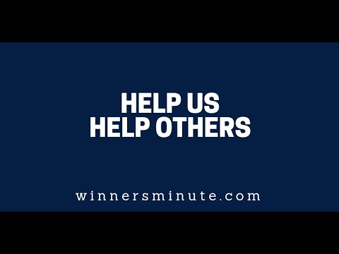 Help Us Help Others  The Winner's Minute With Mac Hammond