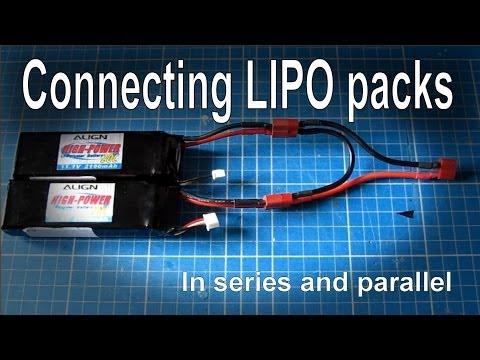 Lipo Pilleri Seri ve Parallel Bağlama