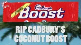 Cadburys Coconut Boost Todays Classic Bar