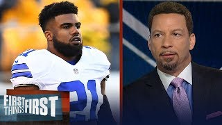Zeke should feel disrespected by Jerry Jones' comments - Chris Broussard   NFL   FIRST THINGS FIRST
