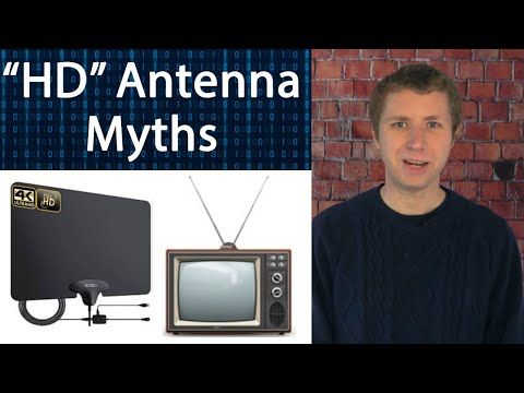 Five Myths about TV Antennas and Over the Air TV