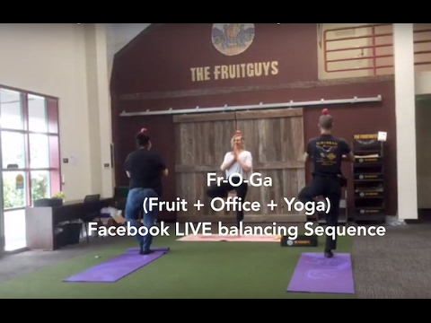Fruit + Office + Yoga Facebook LIVE series: 30 Minute Balancing Class