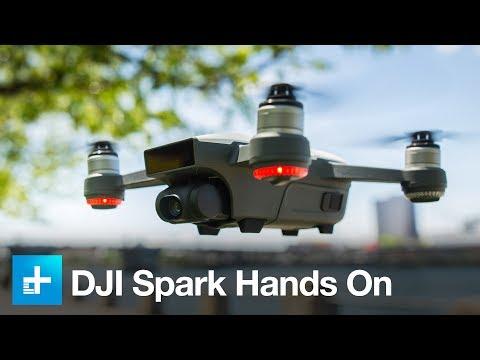 DJI Spark Quadcopter - Hands On Review - UCDmaPHBzr724MEhnOFUAqsA