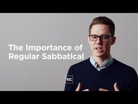 The Importance of a Regular Sabbatical