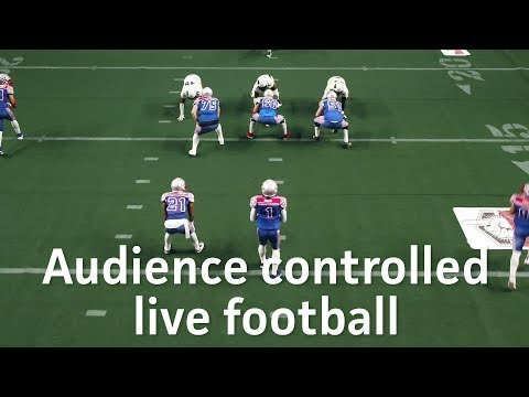 Audience controlled live football with Project FANchise