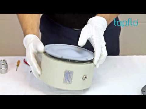 T125 sanitary diaphragm pump dismantling