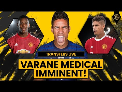 £35 MILLION Deal Done For Varane - Medical THIS WEEK   Transfers Live