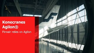 Finnair relies on Konecranes Agilon in its MRO warehouse