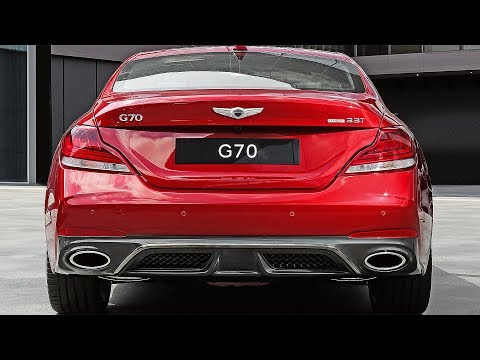 Genesis G70 (2019) Ready to fight Kia Stinger