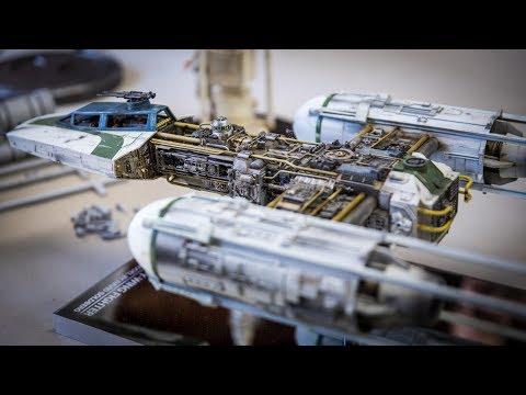 Star Wars Studio Scale Y-Wing Model!