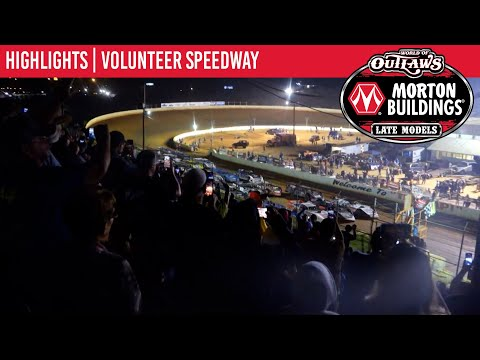 World of Outlaws Morton Building Late Models at Volunteer Speedway September 4, 2021 | HIGHLIGHTS - dirt track racing video image
