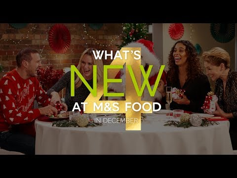 M&S | Episode 4: What's New at M&S FOOD in December | #MyMarksFave