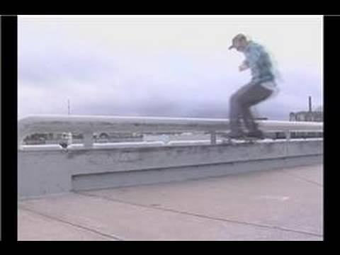 Skateboarding Tricks : Front Side 50-50 Foot Placement