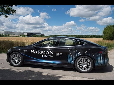 HARMAN facilitates the Electric Vehicle (r)evolution with HALOsonic