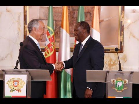 Point de presse conjoint animé par les Présidents Alassane OUATTARA et Marcelo Rebelo de SOUSA