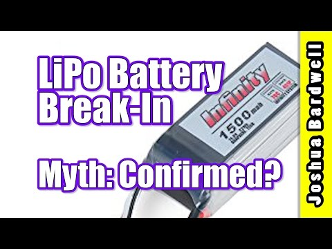 Does LiPo Battery Break In Make A Difference | FINALLY A REAL ANSWER - UCX3eufnI7A2I7IkKHZn8KSQ