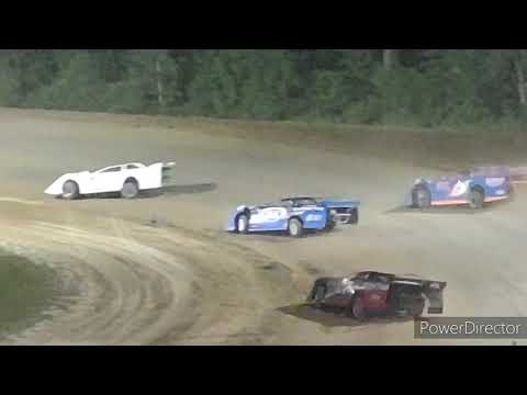 Late Model A-Main - Crystal Motor Speedway - 8-7-2021 - dirt track racing video image